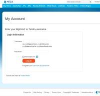 webmail.bigpond.com screenshot