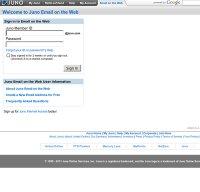 webmail.juno.com screenshot