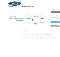 webmail.pair.com screenshot