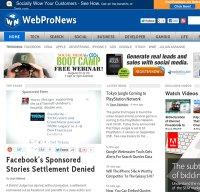 webpronews.com screenshot