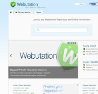 webutations.info screenshot