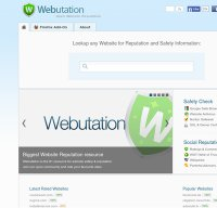 webutations.net screenshot