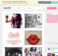 weheartit.com screenshot