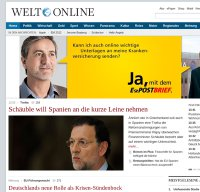 welt.de screenshot