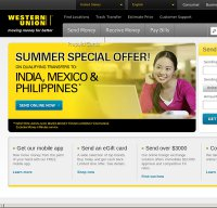 westernunion.com screenshot