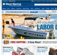 westmarine.com screenshot