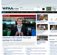 Wfaa com - Is WFAA Down Right Now?