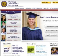 wgu.edu screenshot