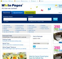 whitepages.com.au screenshot