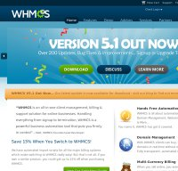 whmcs.com screenshot