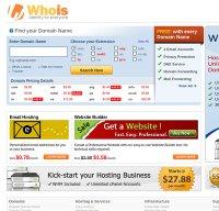 whois.com screenshot