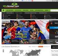 whoscored.com screenshot