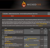 wickedfire.com screenshot