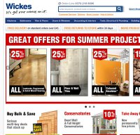 wickes.co.uk screenshot
