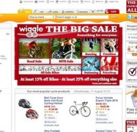 wiggle.co.uk screenshot