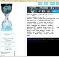 WikiLeaks Screnshot