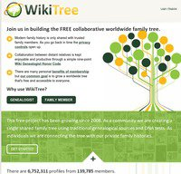 wikitree.com screenshot
