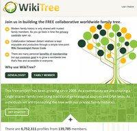 wikitree.com screenshot