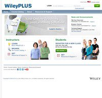 wileyplus.com screenshot