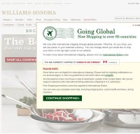 williams-sonoma.com screenshot