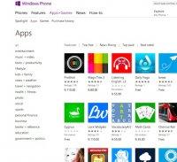 windowsphone.com screenshot