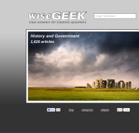 wisegeek.com screenshot