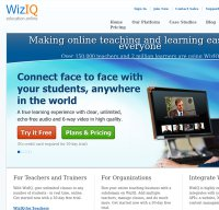 wiziq.com screenshot