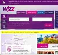 wizzair.com screenshot