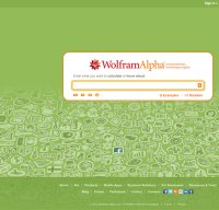 wolframalpha.com screenshot