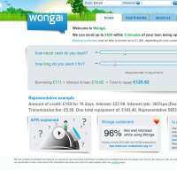wonga.com screenshot