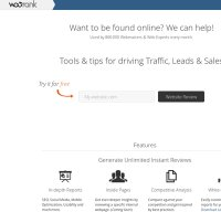 woorank.com screenshot