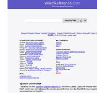 wordreference.com screenshot