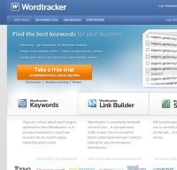 wordtracker.com screenshot