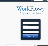 workflowy.com screenshot