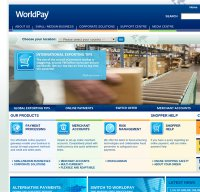 worldpay.com screenshot