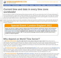 worldtimeserver.com screenshot
