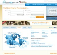 worldvitalrecords.com screenshot