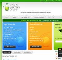 worldweatheronline.com screenshot