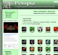 wow-petopia.com screenshot