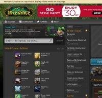 wowinterface.com screenshot
