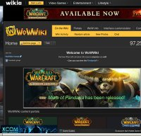wowwiki.com screenshot