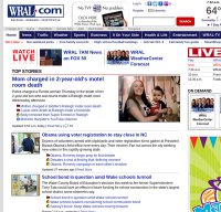wral.com screenshot