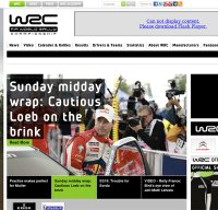 wrc.com screenshot