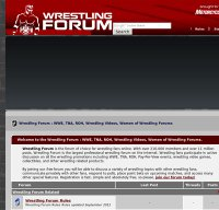 wrestlingforum.com screenshot