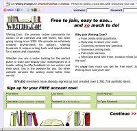 writing.com screenshot