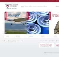 wsu.edu screenshot