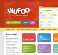 wufoo.com screenshot