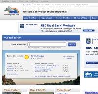 wunderground.com screenshot
