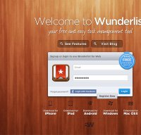 wunderlist.com screenshot
