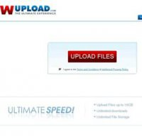 wupload.com screenshot